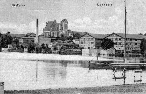 Deutsch-Eylau, Südseite