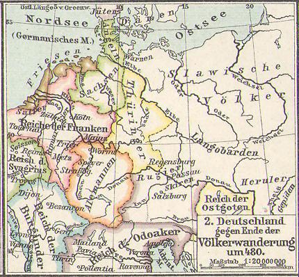 Deutschland um 480