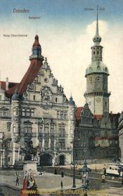 Dresden, König Albert-Denkmal