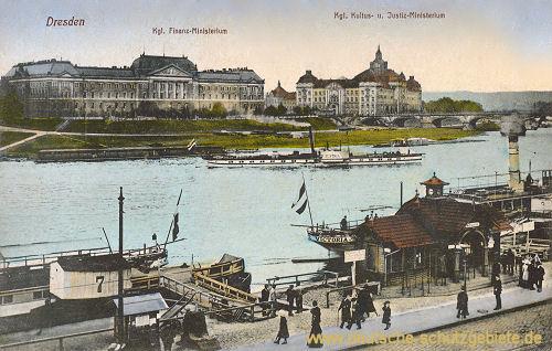Dresden, Königliches Finanz-, Kultus- und Justiz-Ministerium