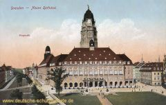 Dresden, Neues Rathaus, Ringstraße