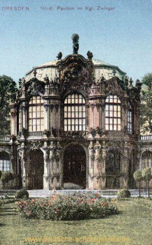 Dresden, Nördlicher Pavillon Königlicher Zwinger