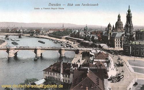 Dresden, Dresden vom Fernheizwerk