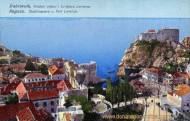 Ragusa, Stadtmauern und Fort Lorenzo