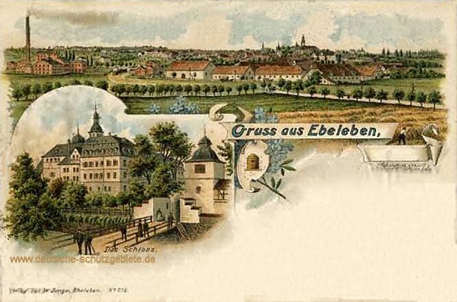 Ebeleben, Stadt und Schloss