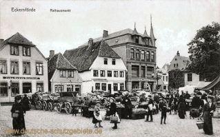 Eckernförde, Rathausmarkt