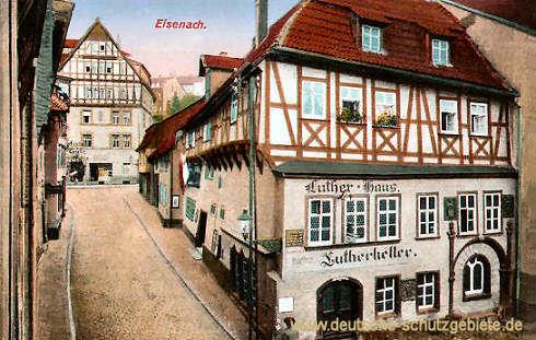 Eisenach, Lutherhaus