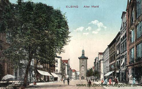 Elbing, Alter Markt