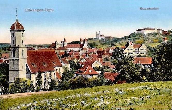 Ellwangen/Jagst, Gesamtansicht