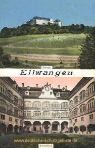 Ellwangen, Schloss, Schlosshof