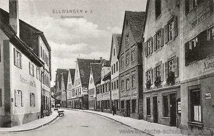 Ellwangen a. J., Schmiedstraße