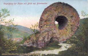 Engelsburg bei Thann mit Blick auf Bitschweiler