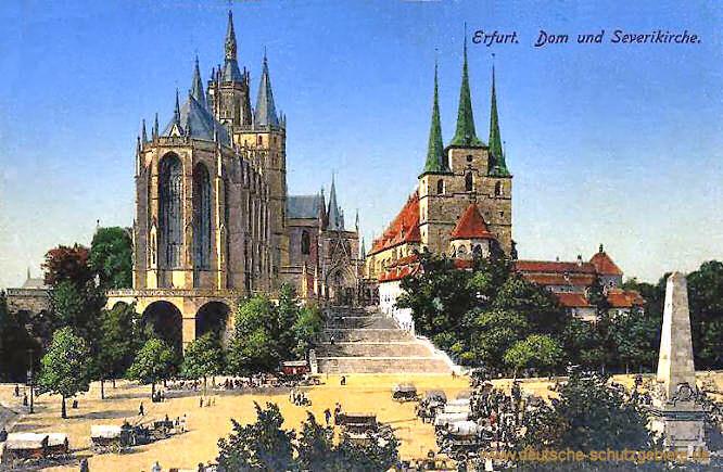 Erfurt, Dom und Severikirche