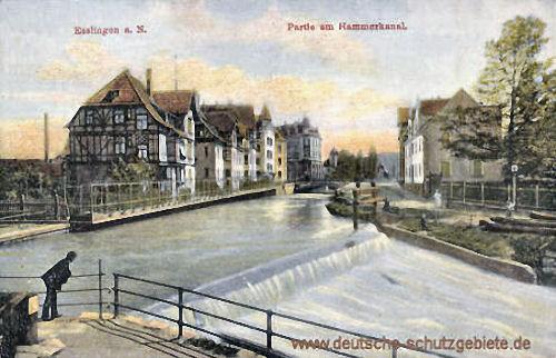 Esslingen a. N., Hammerkanal