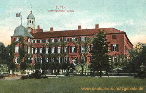 Eutin, Großherzogliches Schloss