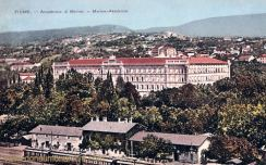 Fiume, Marine-Akademie