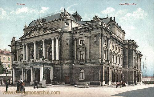 Fiume, Stadttheater