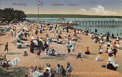 Flensburg, Strandleben - Ostseebad