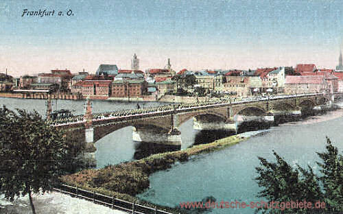 Frankfurt a. O., Oderbrücke