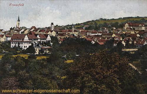 Frauenfeld, Stadtansicht