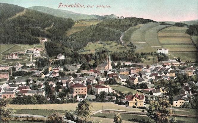 Freiwaldau, Ansicht