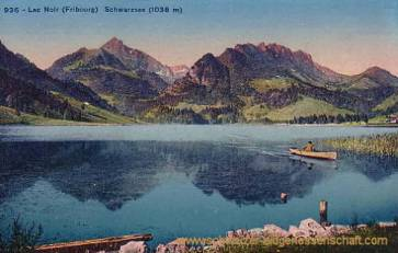 Lac Noir (Fribourg) Schwarzsee (1038 m)