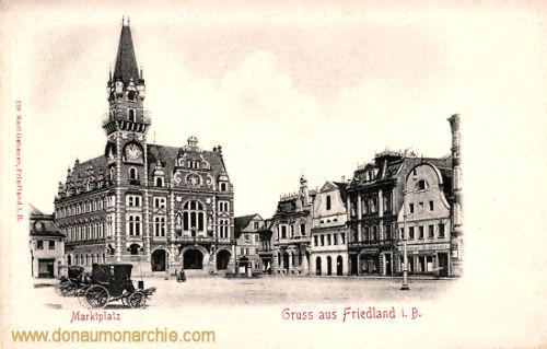 Friedland i. B., Marktplatz