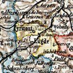 Fürstentum Pyrmont, Karte 1905