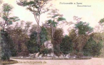 Fürstenwalde, Bismarckdenkmal