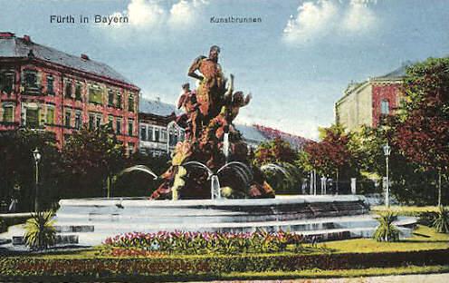 Fürth, Kunstbrunnen