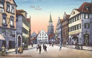 Fürth i. B., Marktplatz
