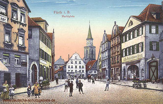 Fürth im Königreich Bayern | deutsche-schutzgebiete.de