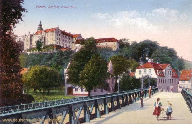 Fürstentum Reuß jüngere Linie: Gera, Schloss Oberstein