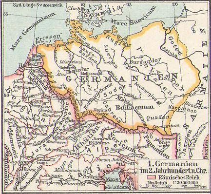 Germanien im 2. Jahrhundert