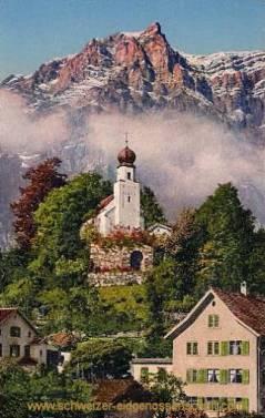 Glarus, Burgkapelle mit Wiggis