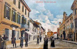 Gradisca, Via del mercato
