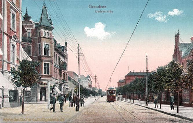 Graudenz, Lindenstraße