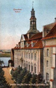 Graudenz, Rathaus