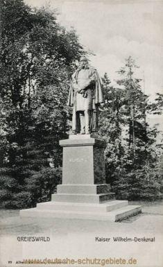 Greifswald, Kaiser Wilhelm-Denkmal