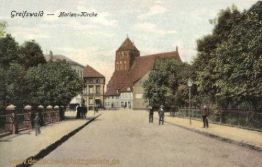 Greifswald, Marien-Kirche