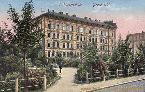 Greiz, I. Bürgerschule