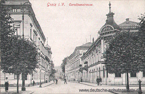 Greiz, Carolinenstraße