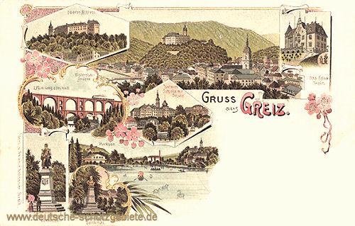 Greiz, Reuß ältere Linie