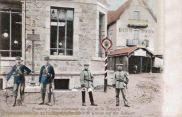 Grenze Frankreich Deutschland auf der Schlucht