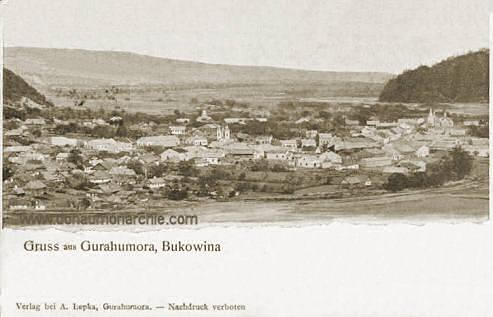 Gurahumora, Bukowina