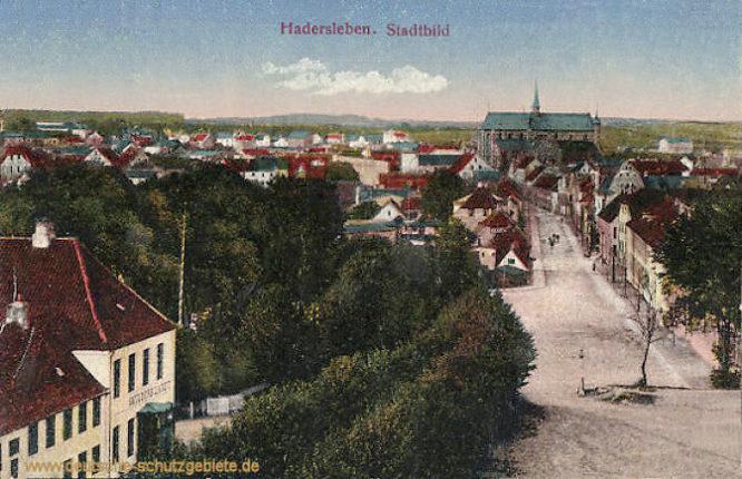 Hadersleben, Stadtbild