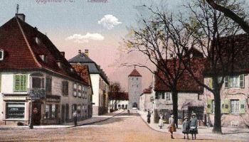 Hagenau im Elsass, Landweg