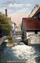 Hagenau, Moderpartie am schmalen Brückel