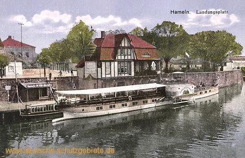 Hameln, Dampferanlegestelle