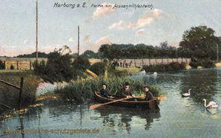 Harburg, Partie am Außenmühlenteich